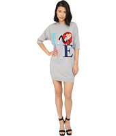 LOVE Moschino - Love Graphic 1/2 Sleeve Sweater Dress
