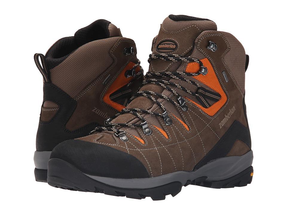 Zamberlan Torrent GTX RR Brown/Orange Mens Shoes