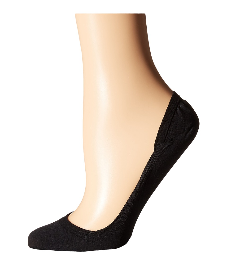 Falke - Elegant Step Invisible Socks (Black) Womens Low Cut Socks Shoes