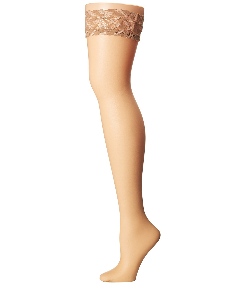 Falke - Shelina Stay Up Tights (Powder) Hose