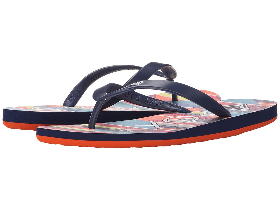 Roxy Tahiti Stripe Barely Pink Womens Sandals