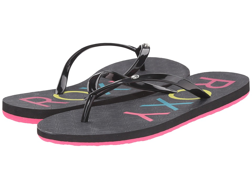 Roxy Sandy Black Womens Sandals