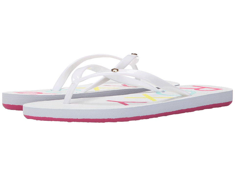 Roxy Sandy White Womens Sandals