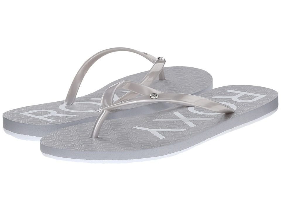 Roxy Sandy Silver Womens Sandals