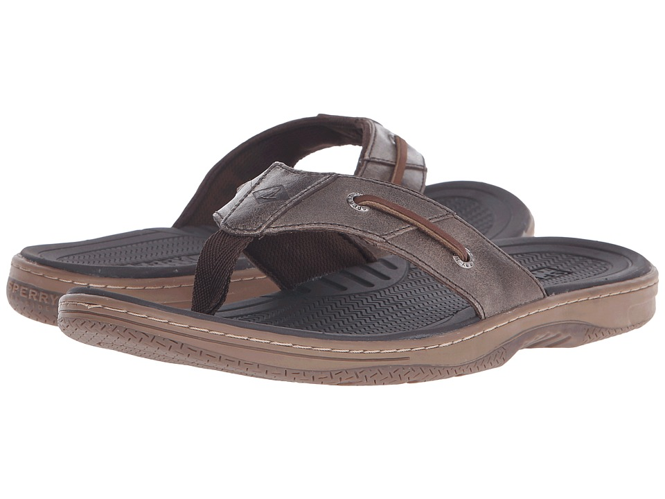 Sperry - Baitfish Thong (Brown) Men's Sandals