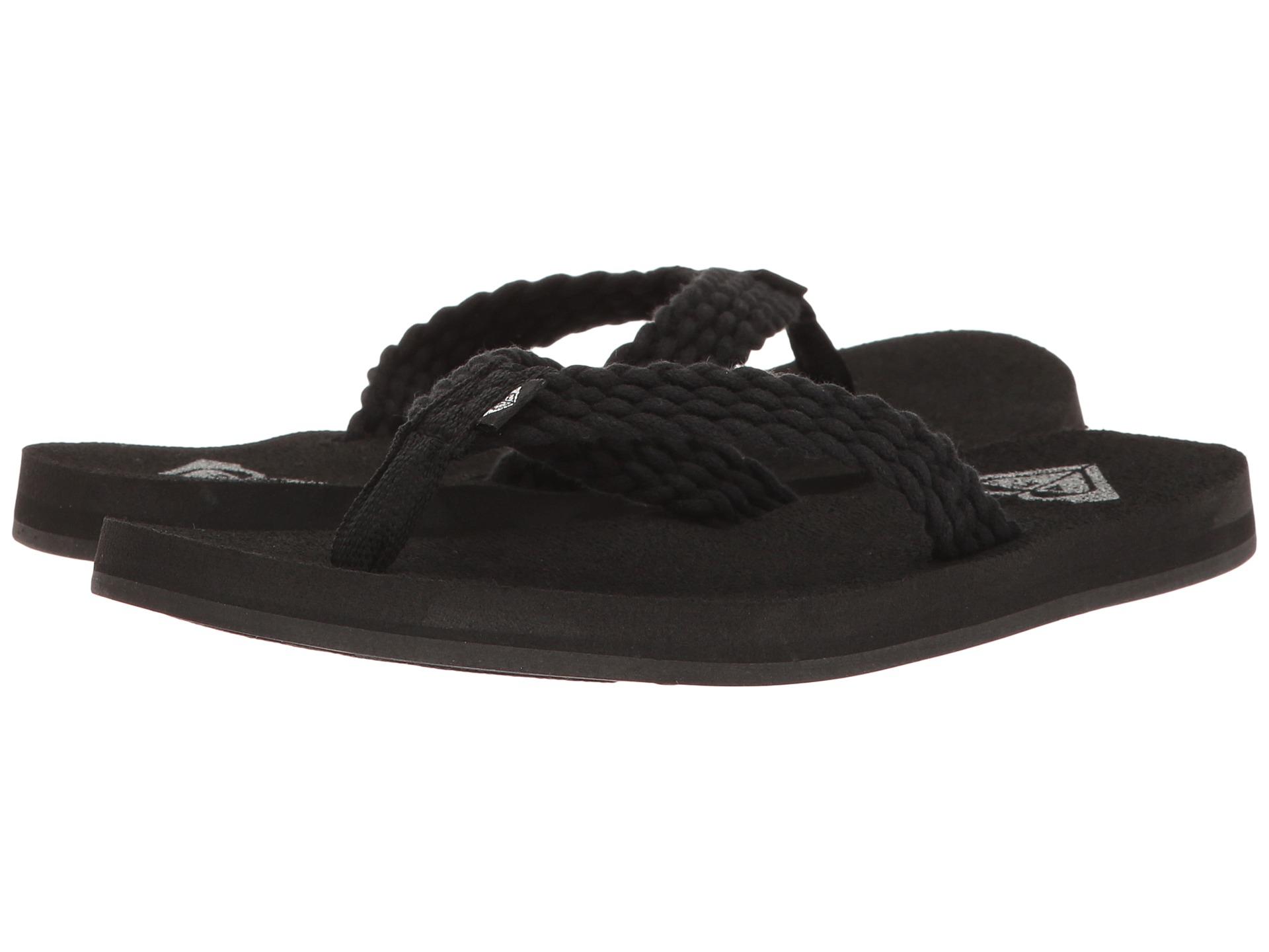 Black roxy sandals - Video