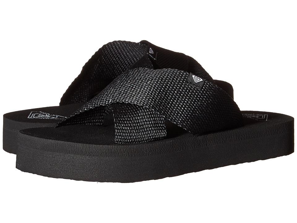 Roxy Cayman Black Womens Sandals