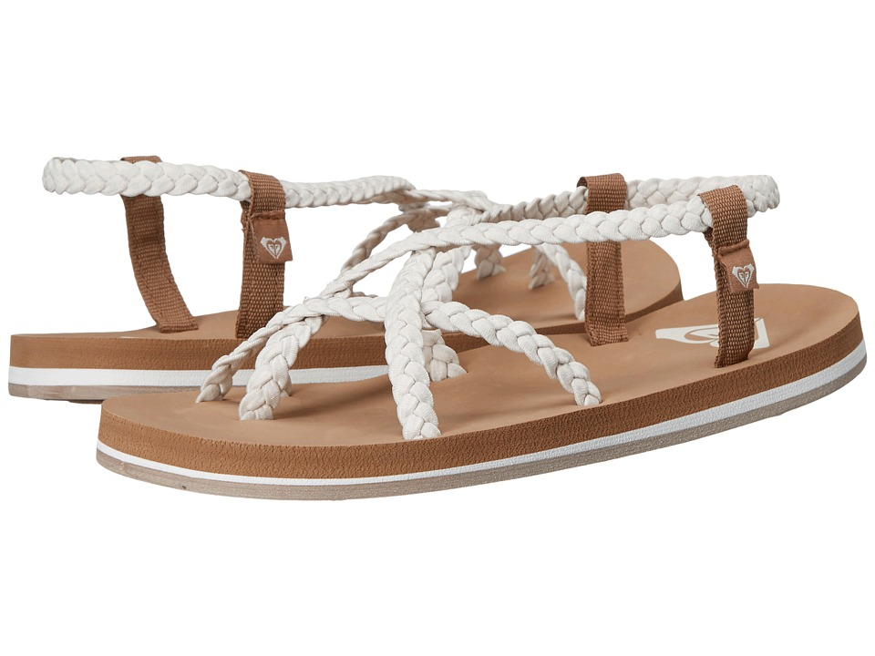Roxy Gillis Cream Womens Sandals