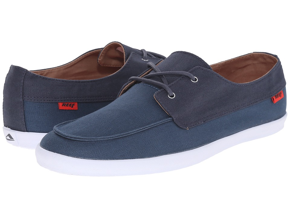 Reef Deckhand Low Navy/Blue Mens Shoes