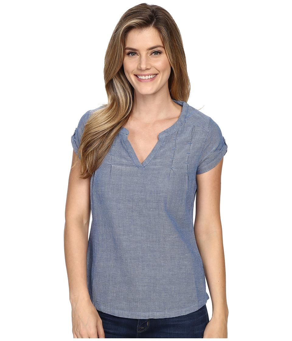 Royal Robbins Cool Mesh Short Sleeve Top Dark Lapis Womens Short Sleeve Pullover