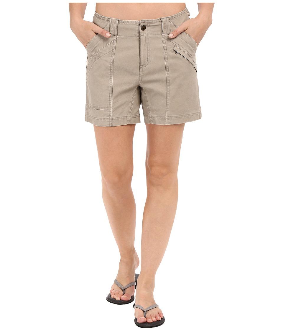 Royal Robbins Backcountry Billy Goat Canvas Shorts Khaki Womens Shorts