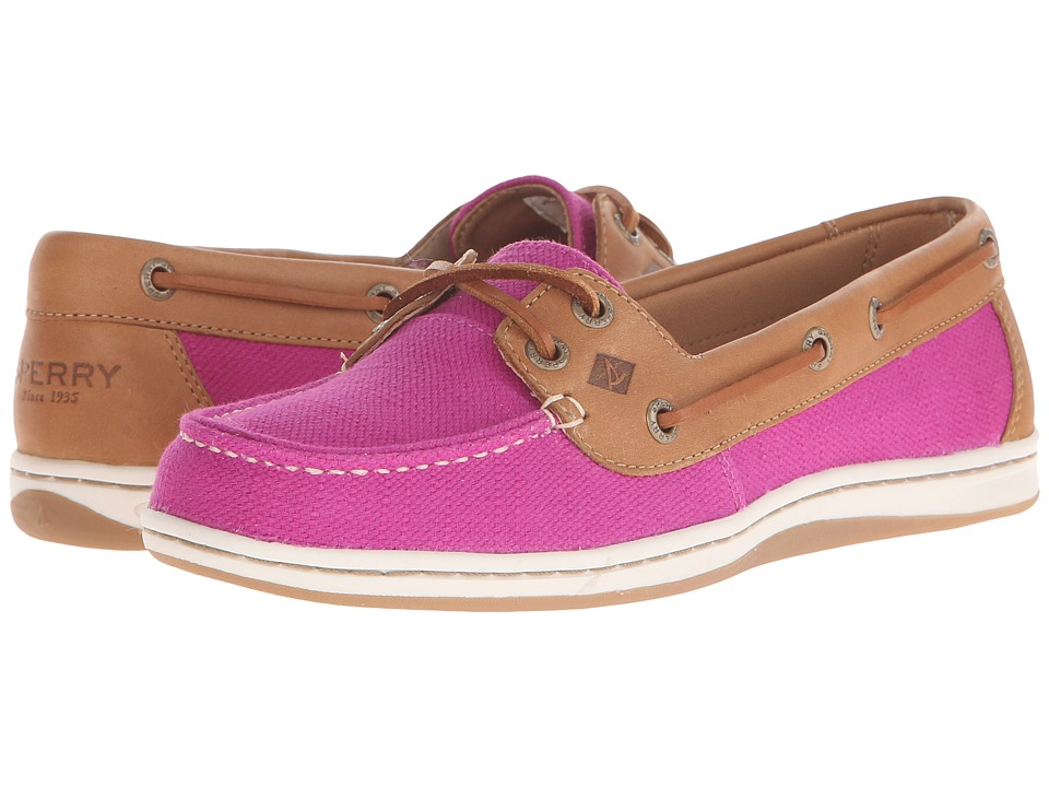 Sperry Top-Sider - Firefish Nubby Canvas (Bright Pink) Women