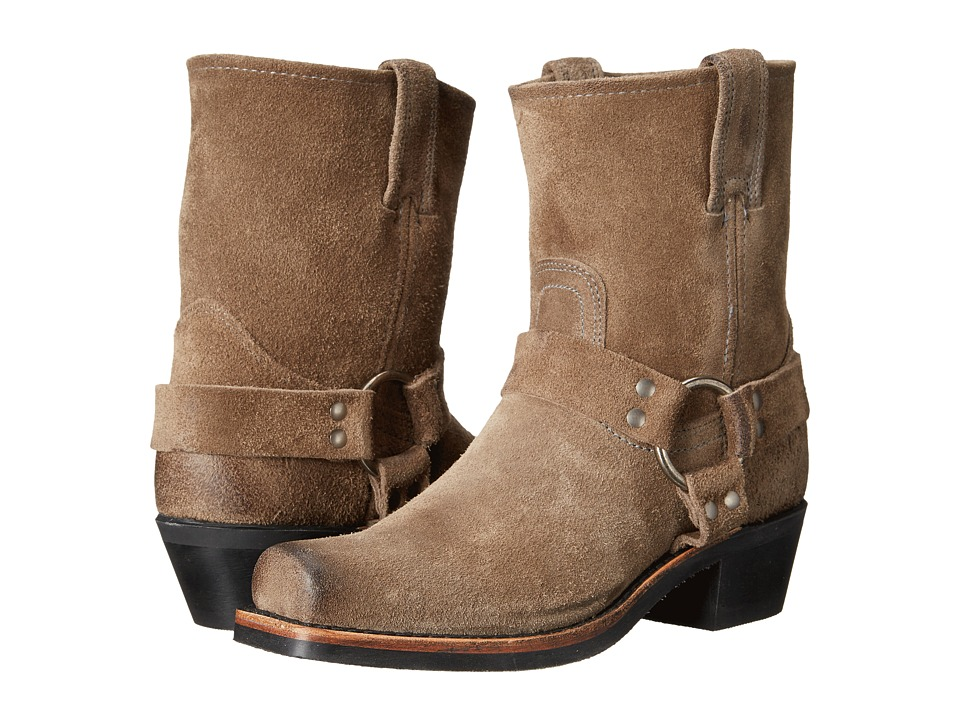 Frye - Harness 8R (Taupe Oiled Suede) Women's Pull-on Boots
