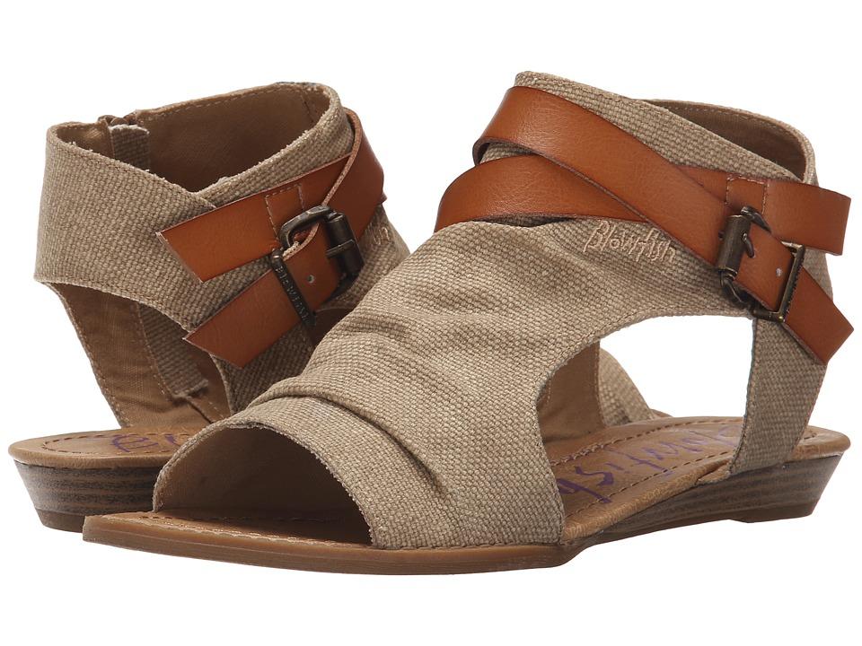 Blowfish Balla (Desert Sand Rancher Canvas/Dyecut PU) Women's Shoes