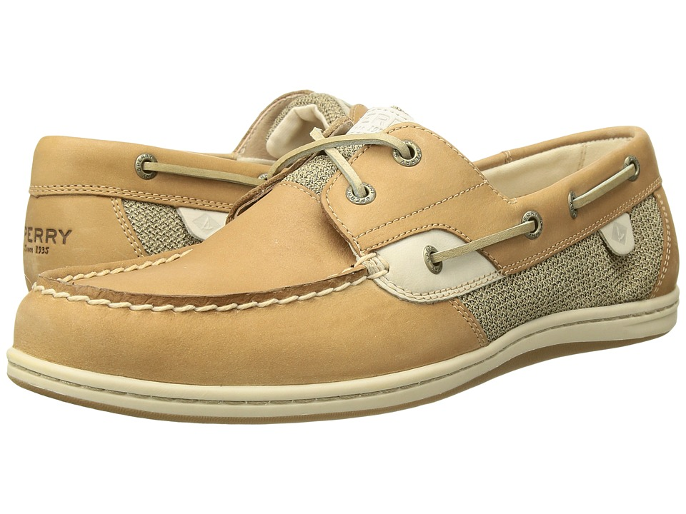 Sperry Top Sider Koifish Core Linen/Oat Womens Lace up casual Shoes
