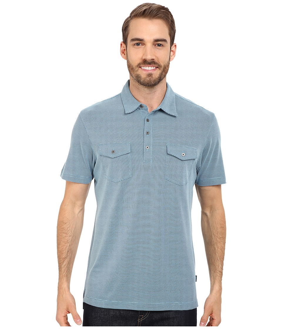 Kuhl Icelandr S/S Shirt Air Blue Mens Short Sleeve Pullover