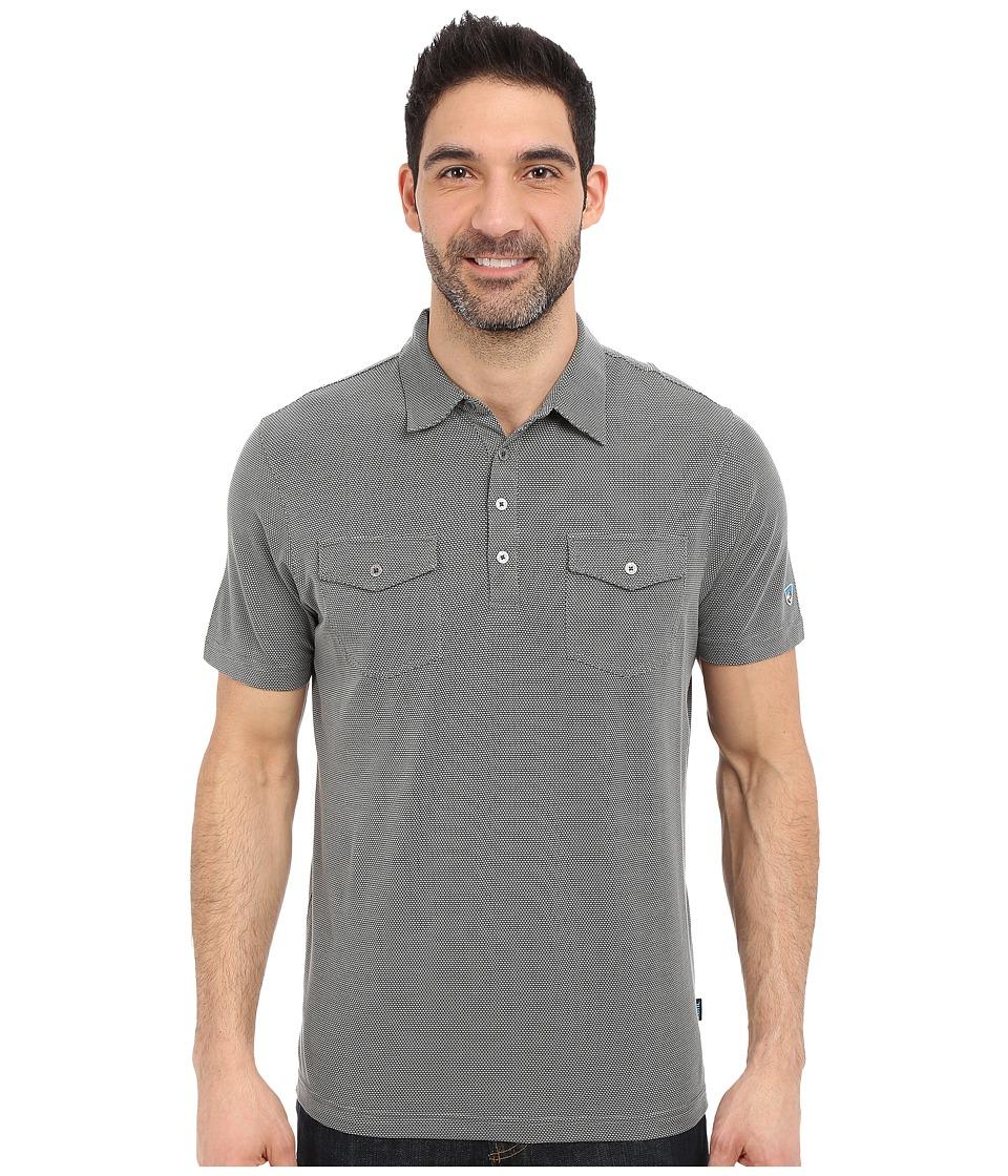 Kuhl Icelandr S/S Shirt Smoke Mens Short Sleeve Pullover