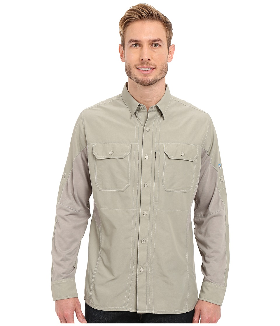 Kuhl Airspeed Long Sleeve Top Khaki Mens Long Sleeve Button Up