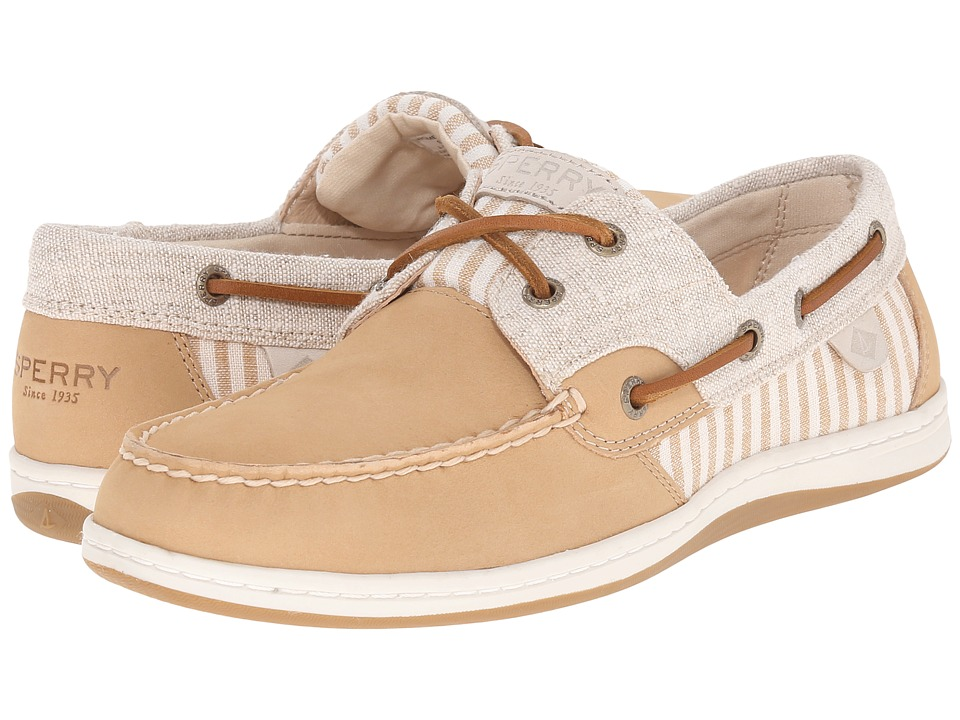 Sperry Top Sider Koifish Stripe Sand Womens Lace up casual Shoes