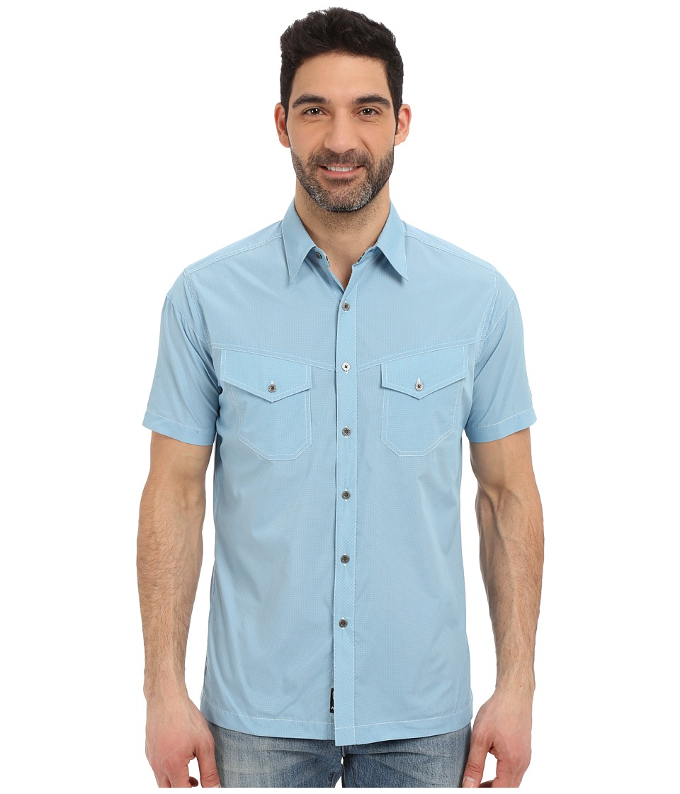KUHL - Stealth (Air Blue) Mens Short Sleeve Button Up