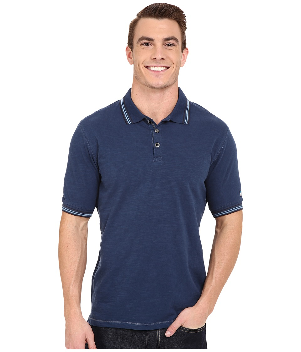 Kuhl Katalyst Short Sleeve Shirt Lake Blue Mens Short Sleeve Pullover