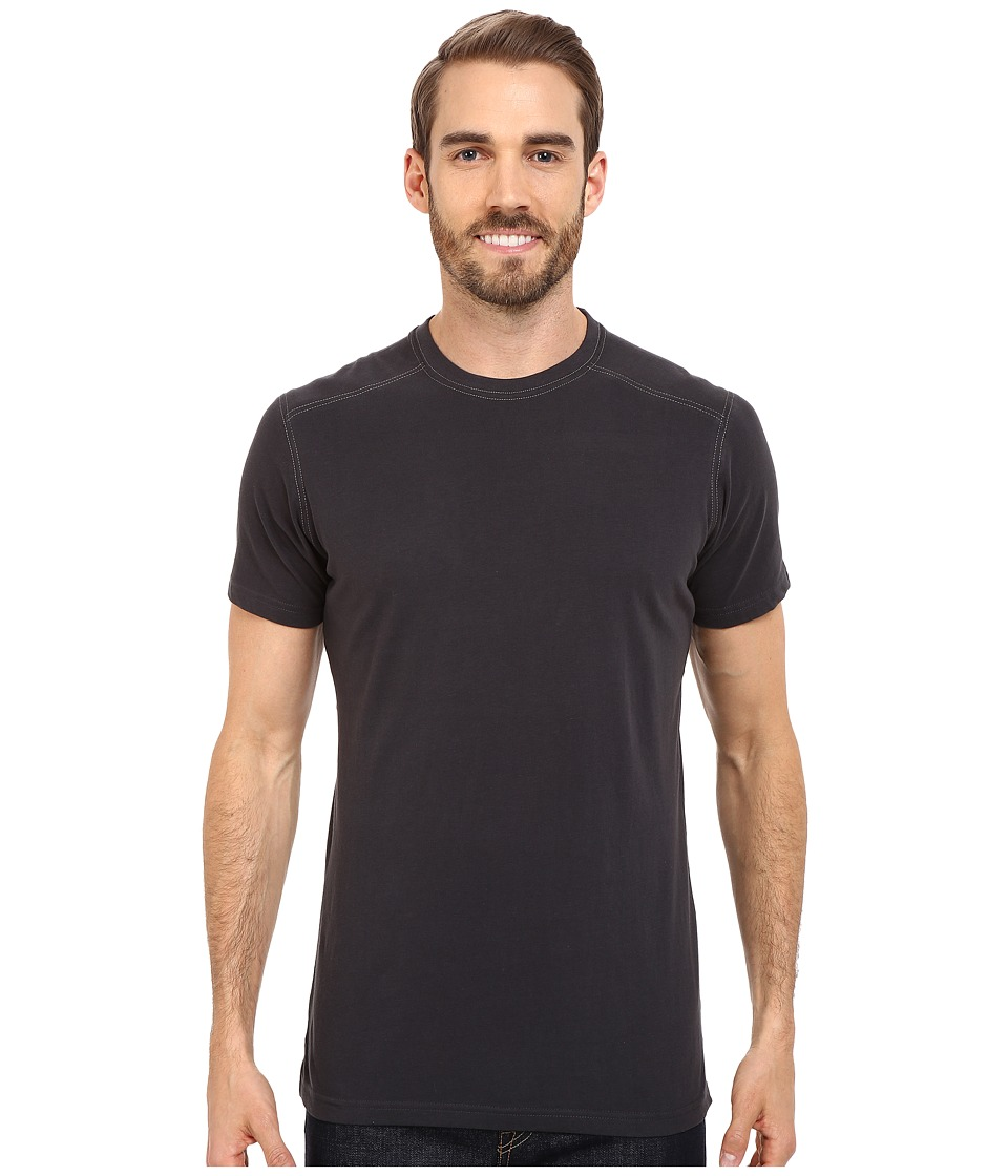 KUHL - Bravadotm Short Sleeve Top (Carbon) Mens Short Sleeve Pullover