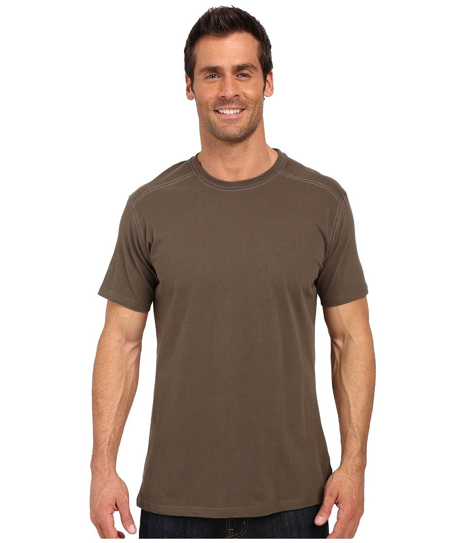 Kuhl Bravado Short Sleeve Top Olive Mens Short Sleeve Pullover