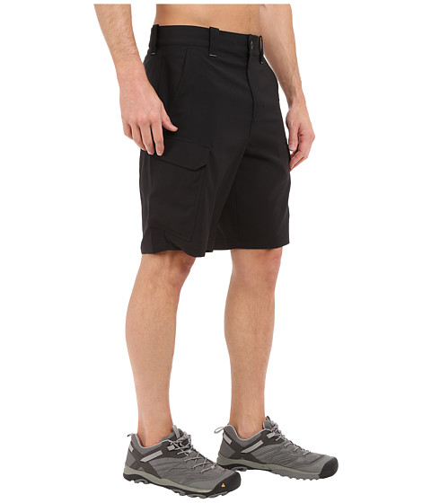 Under armour ua fish hunter cargo short in black modesens for Under armour fishing shorts
