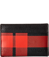 COACH - Mt. Plaid Card Case and Money Clip Set