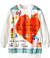 Dolce & Gabbana - Brocade Sweatshirt (Toddler/Little Kids)