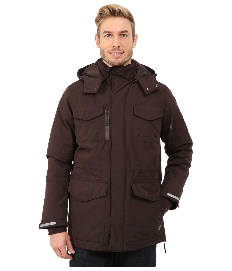 Khombu - Parka Jacket (Black Coffee) Men