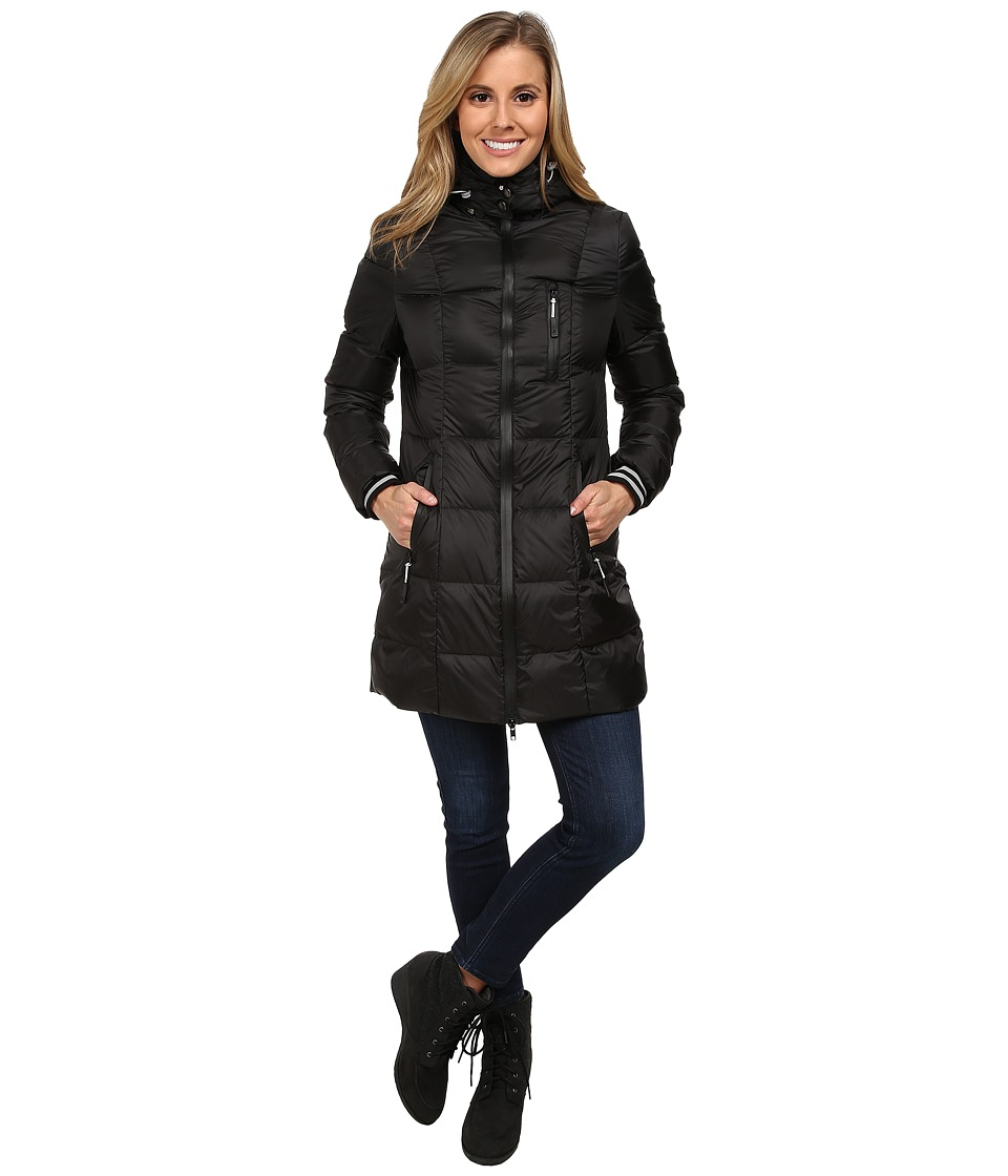 Khombu - Down Parka (Jet Black) Women
