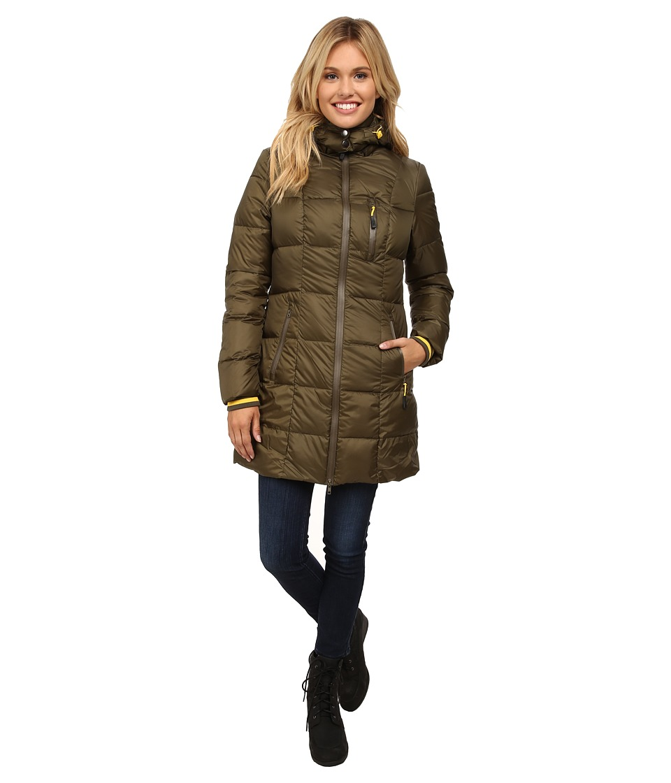 Khombu - Down Parka (Ivy Green) Women