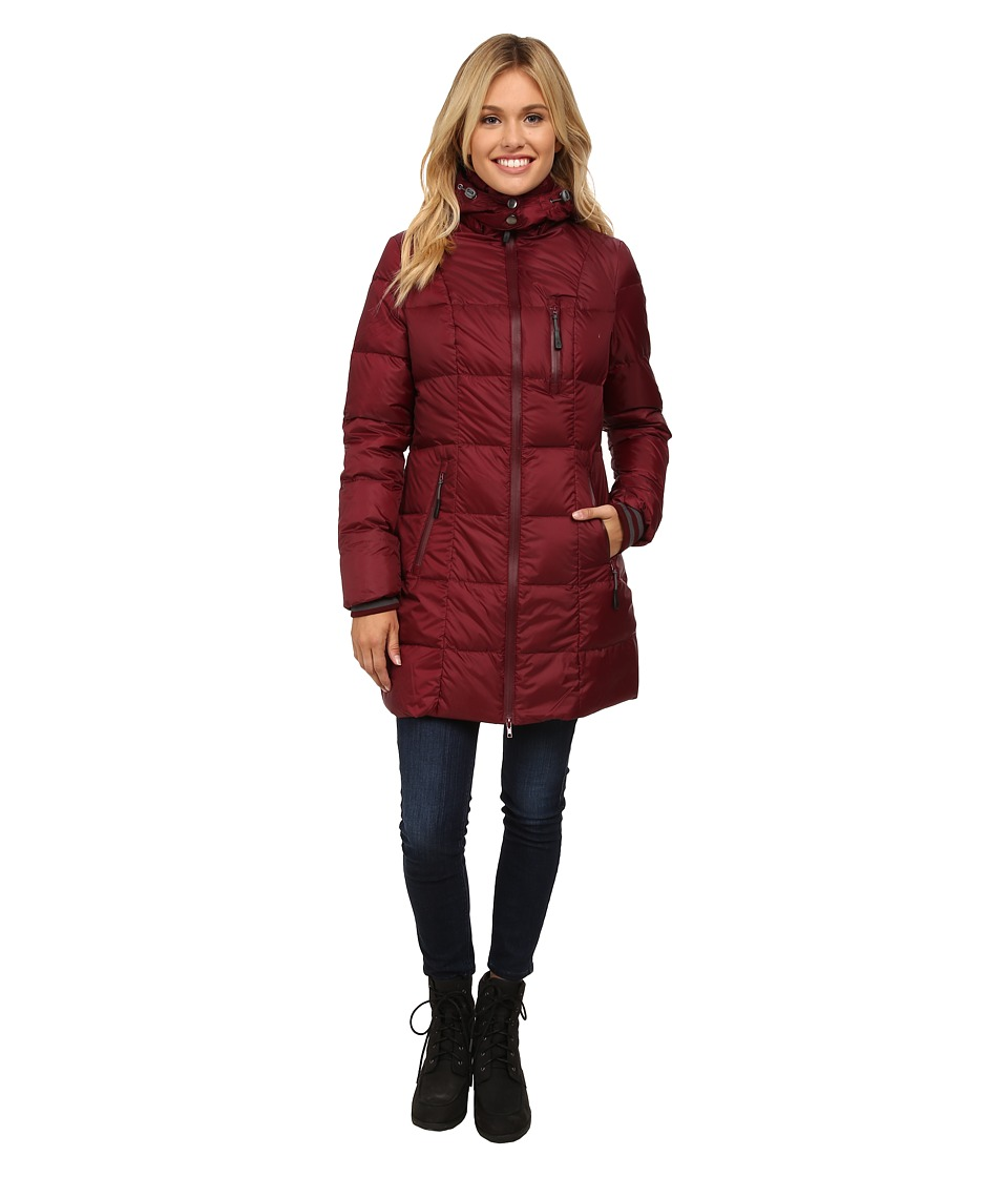 Khombu - Down Parka (Tawny Port) Women