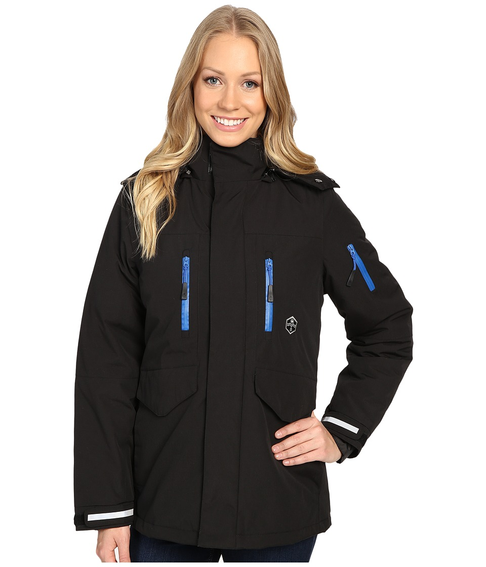 Khombu - Tri Season Jacket (Jet Black) Women