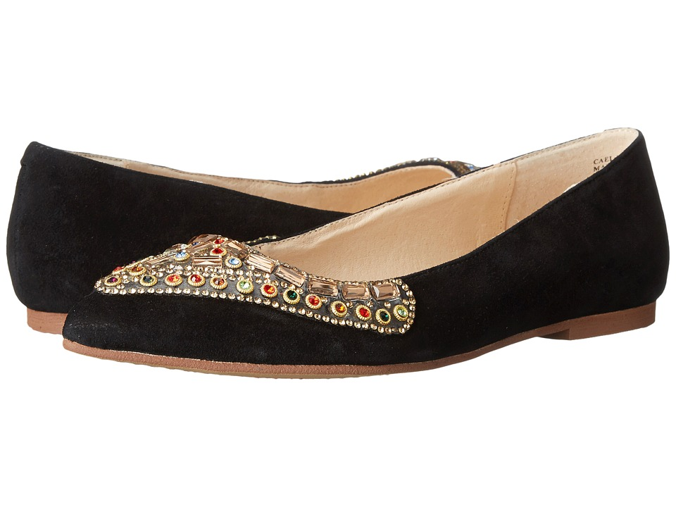 Kristin Cavallari Caela Black Womens Flat Shoes