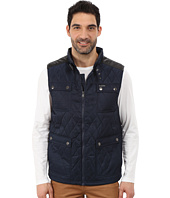 U.S. POLO ASSN. - Quilted Vest with PU Yoke