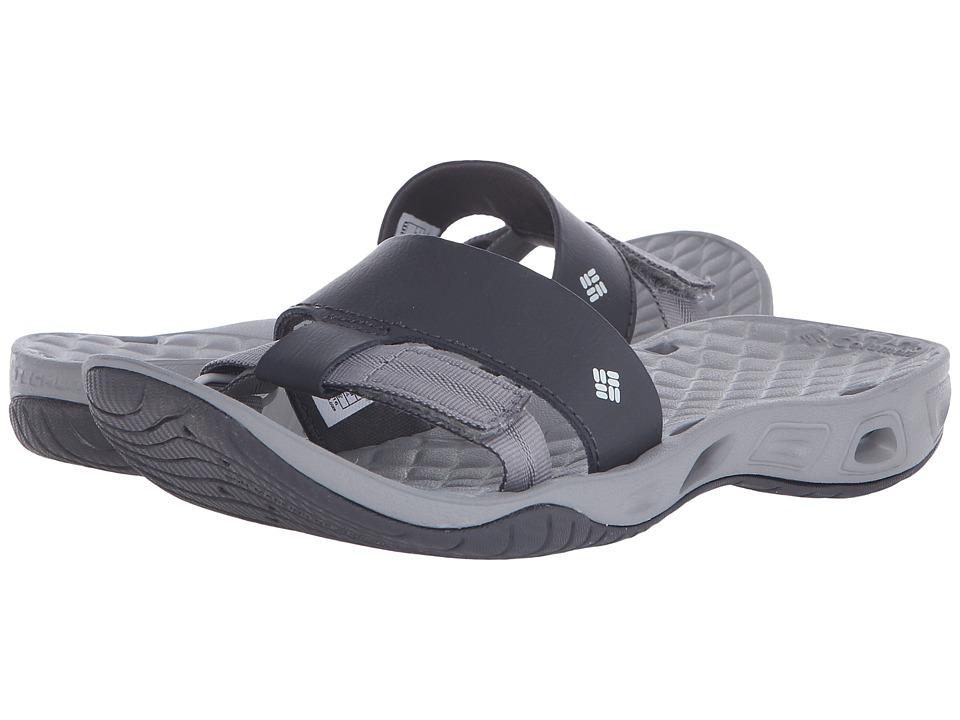 Columbia Sunbreeze Vent Cruz Slide Shark/Oyster Womens Sandals