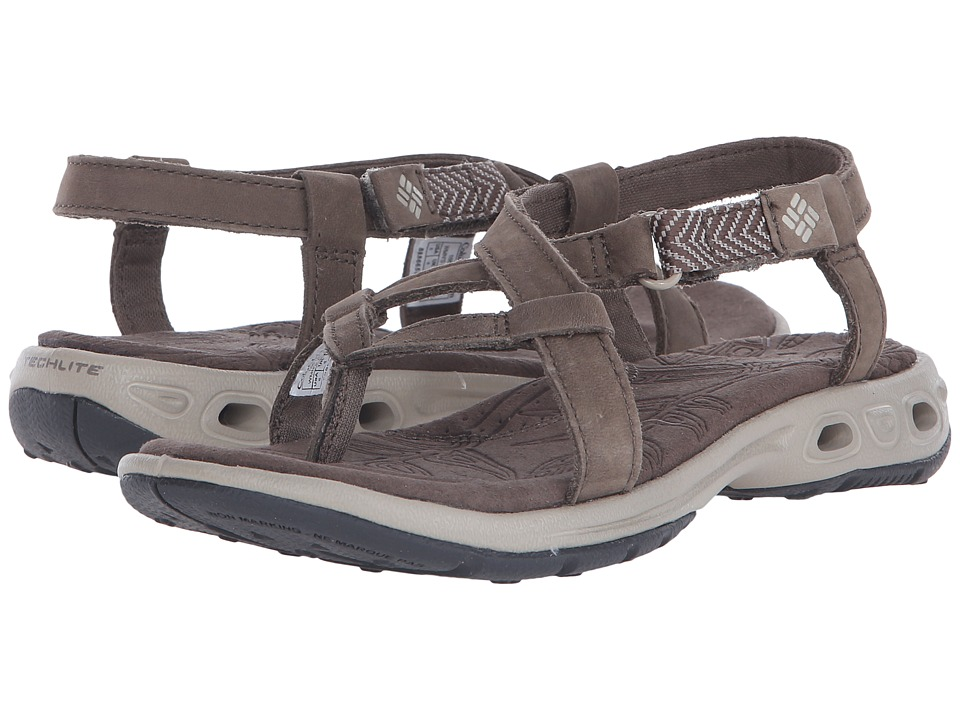 Columbia Abaco Vent Mud/Silver Sage Womens Sandals
