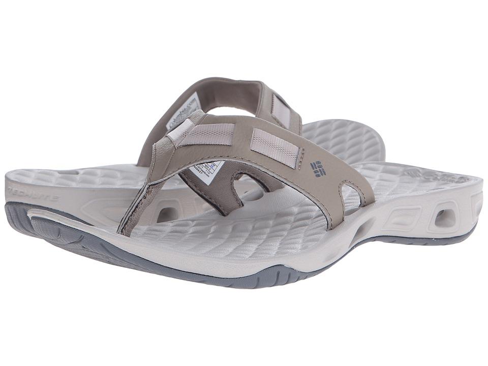 Columbia Sunbreeze Vent Cruz Flip Pebble/Graphite Womens Sandals