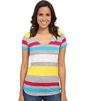 U.S. POLO ASSN. - Stripe V-Neck T-Shirt