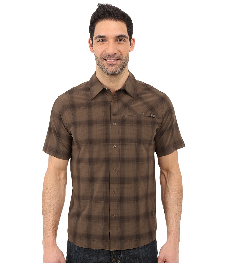 Outdoor Research Astroman S/S Shirt Earth Mens Short Sleeve Button Up
