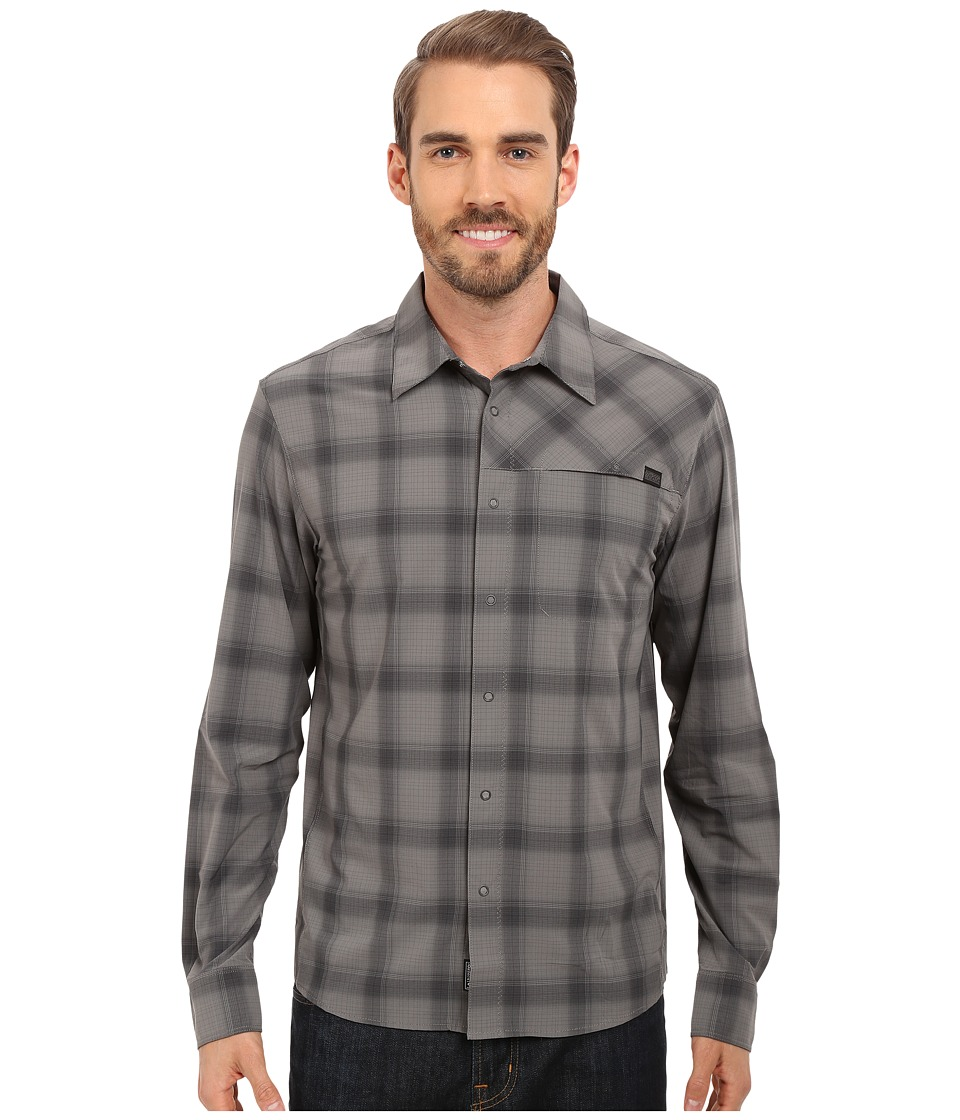 Outdoor Research Astroman L/S Shirt Pewter/Charcoal Mens Clothing