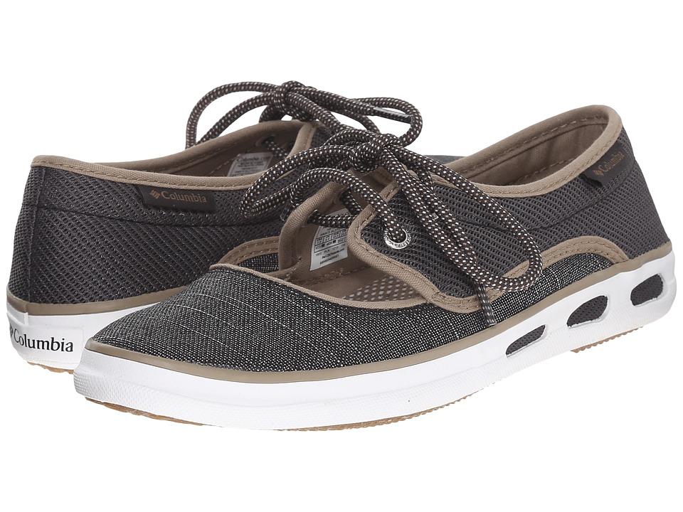 Columbia Vulc N Vent Peep Toe Shark/Khaki Womens Shoes