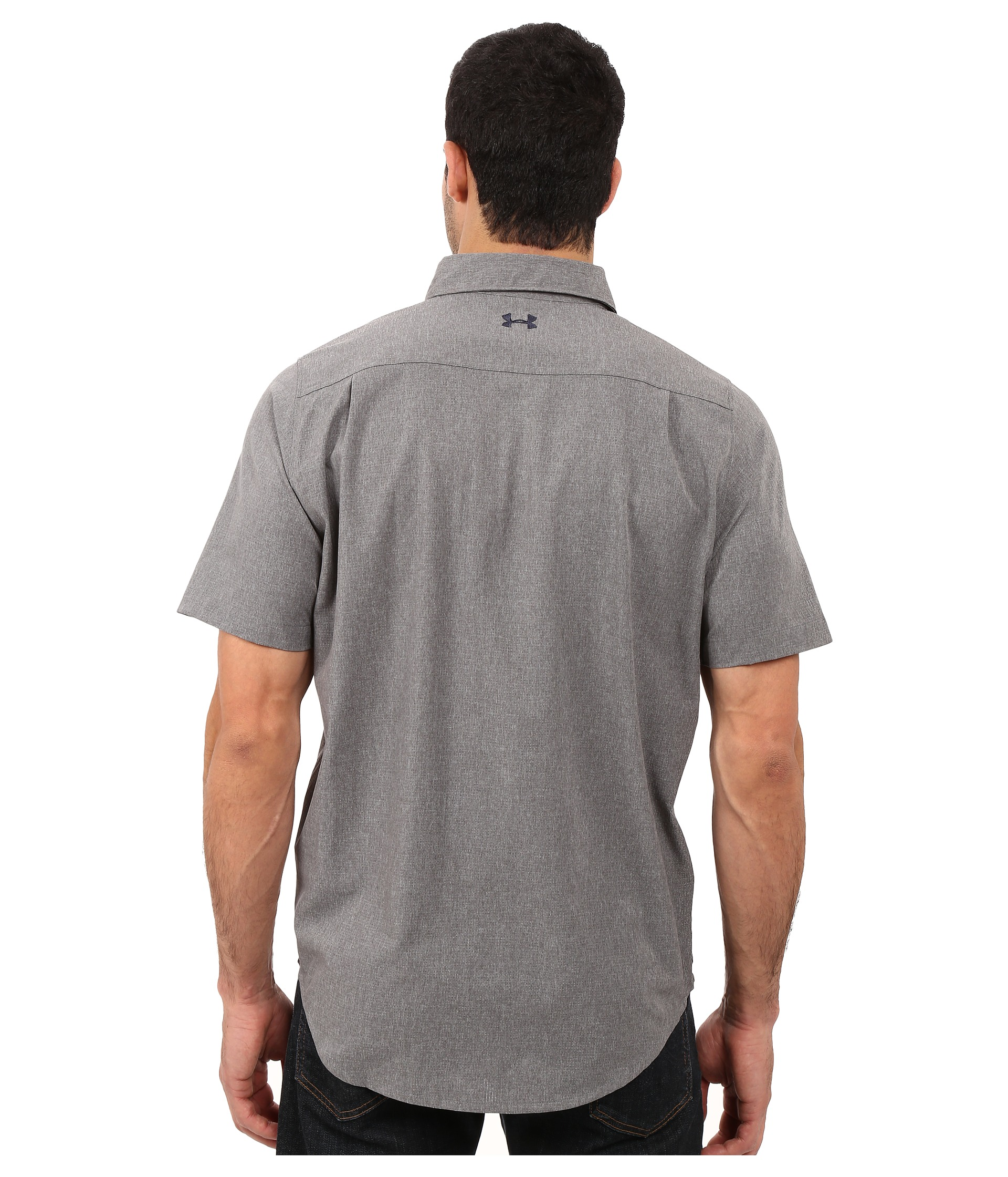 Under armour ua armourvent fishing woven short sleeve for Under armour fishing shirts clearance