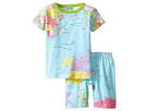 BedHead Kids - Short Sleeve Two-Piece Shorts Set (Toddler/Little Kids)