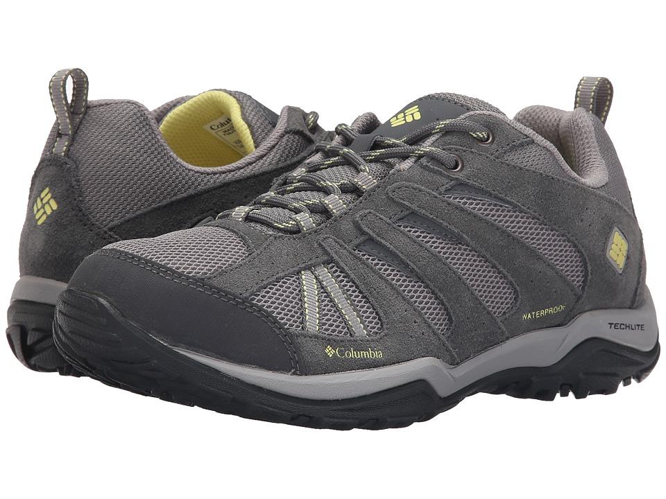Columbia Dakotatm Drifter Waterproof (Light Grey/Sunnyside) Women's Shoes