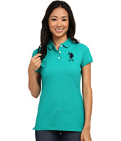 U.S. POLO ASSN. - Stretch Dot Print Polo