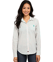 U.S. POLO ASSN. - Striped Poplin Shirt