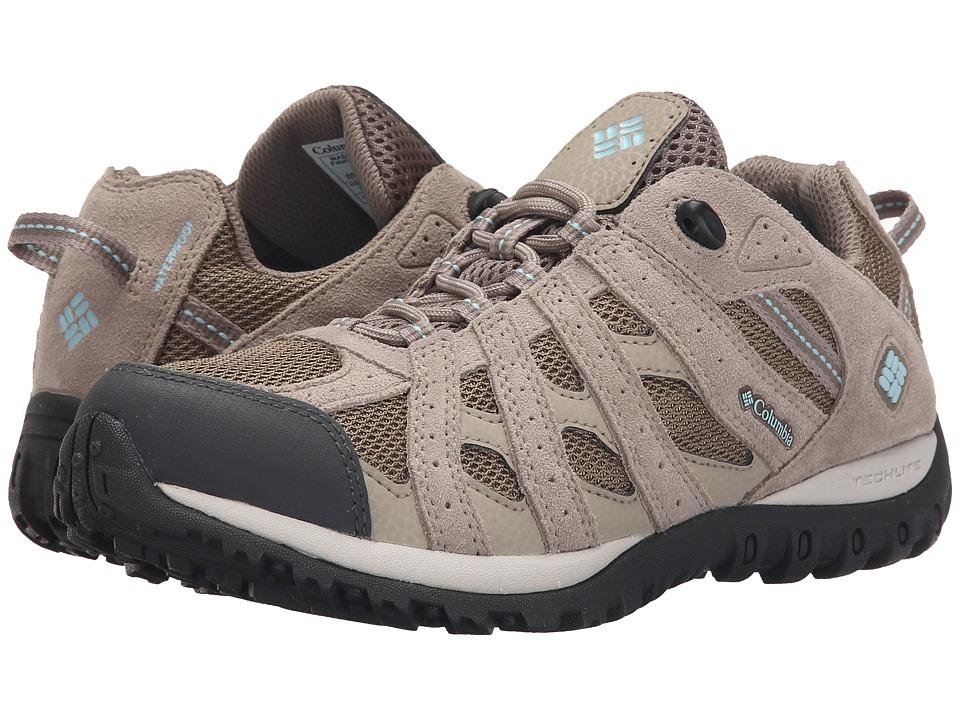 Columbia Redmondtm Waterproof (Pebble/Sky Blue) Women's Shoes